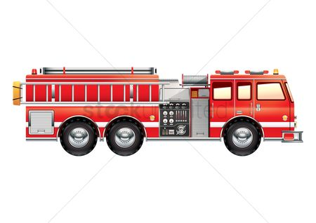 Mechanicals : Fire engine