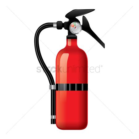 Gases : Fire extinguisher