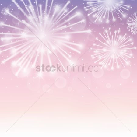 Copyspaces : Fireworks background design