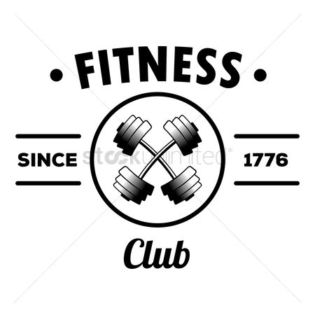 Strength exercise : Fitness club label