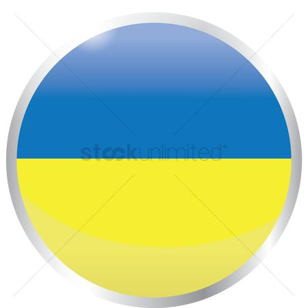 Ukraine : Flag of ukraine