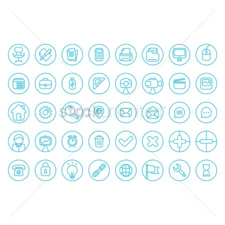 Wrenches : Flat icons