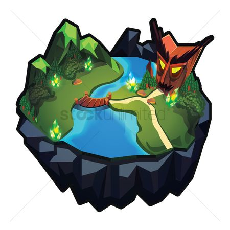Devils : Floating island