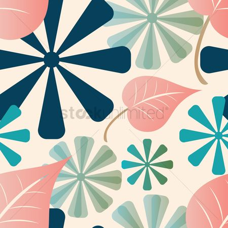 Simplicity : Floral background