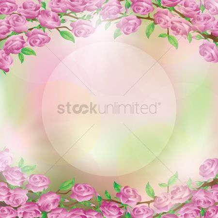 Season : Floral background