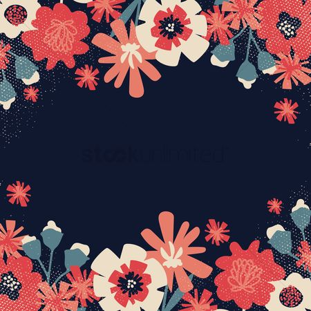 Wallpapers : Floral design