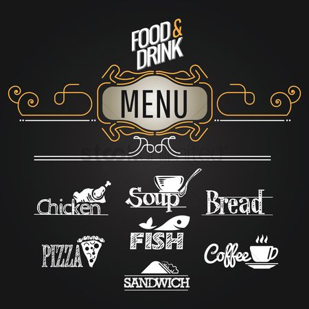 Junk food : Food and drink menu