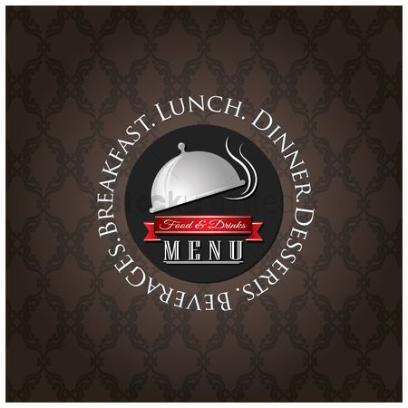 Lunch : Food and drinks menu design