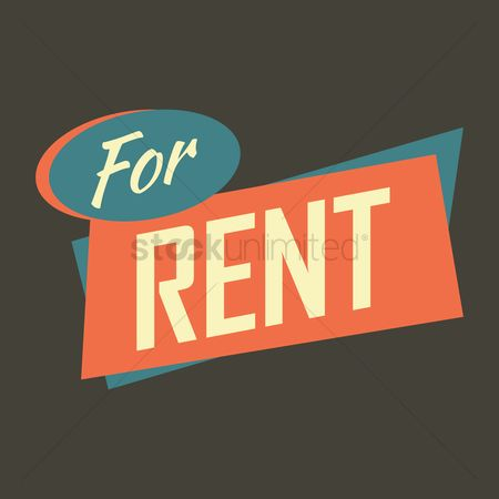 Real estate : For rent