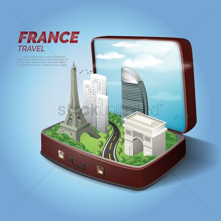 Architectures : France travel