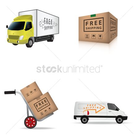 Hand truck : Free shipping collection