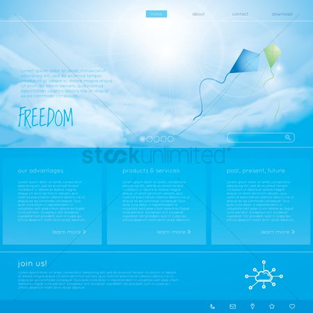 Products : Freedom web page