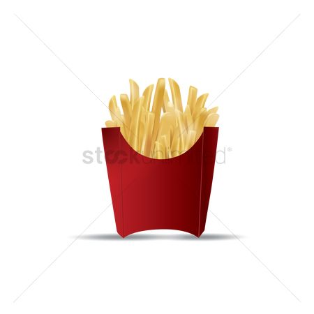 Crispy : French fries pack