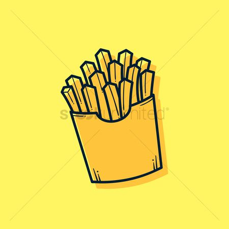 Crispy : French fries