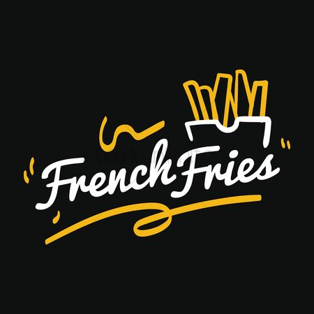 Unhealthy eating : French fries
