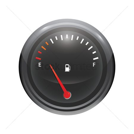 Tanks : Fuel gauge