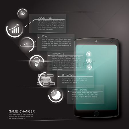 Tablet : Game changer infographic