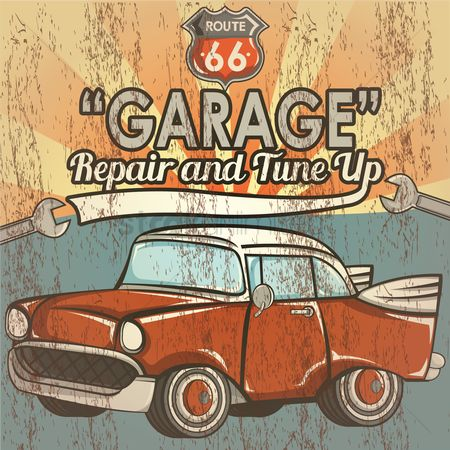 Retro : Garage repair