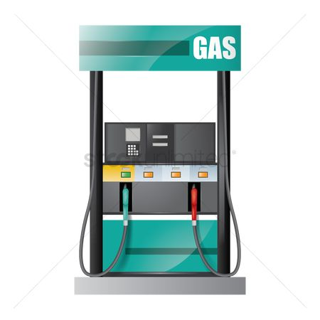 Tanks : Gas pump