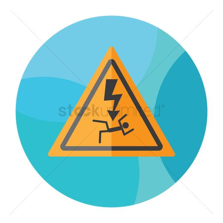 Beware : Generic high voltage danger sign