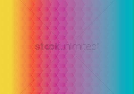 Gradient : Geometric background