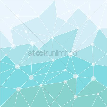Geometrics : Geometrical triangle background