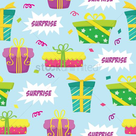 Surprise : Gifts background