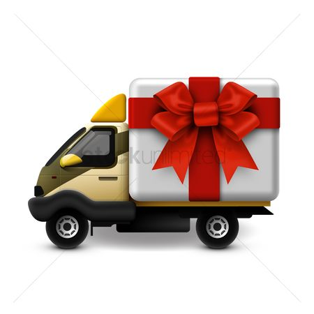 Surprise : Gifts delivery van