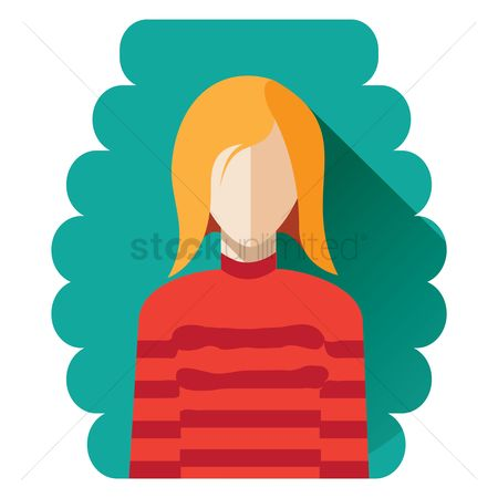 Pullover : Girl in a sweater avatar