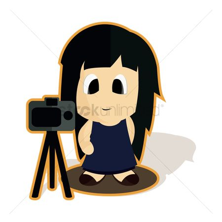 Photographers : Girl photographer