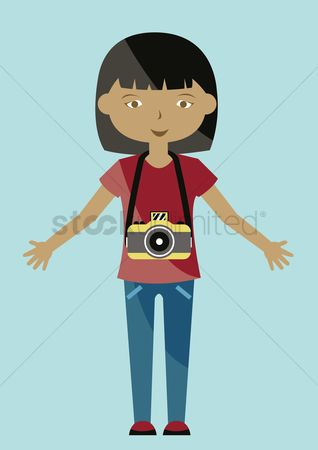 Photographers : Girl with camera