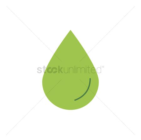 Drips : Go green water droplet