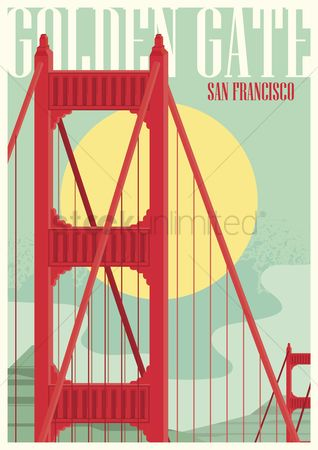 Poster : Golden gate