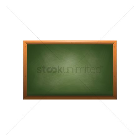 Blackboard : Green chalkboard