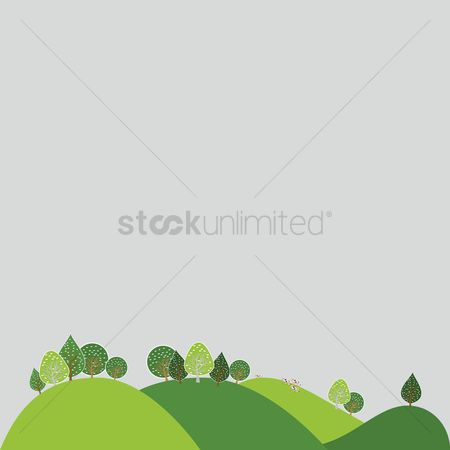 Grass background : Green landscape