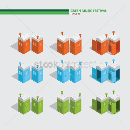 Music : Green music festival toilets