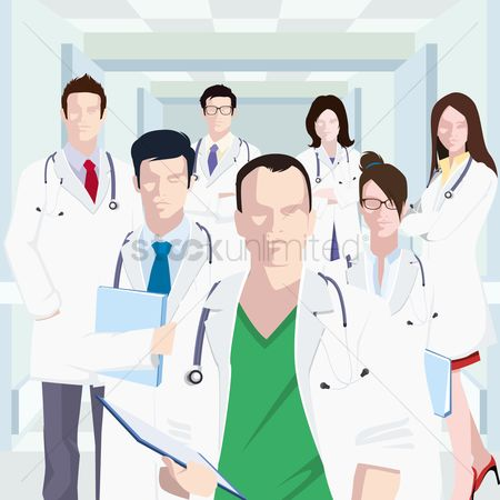 Hospital : Group of doctors