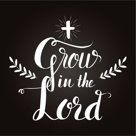 Christian : Grow in the lord design