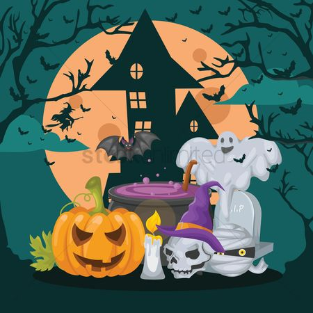 Season : Halloween design