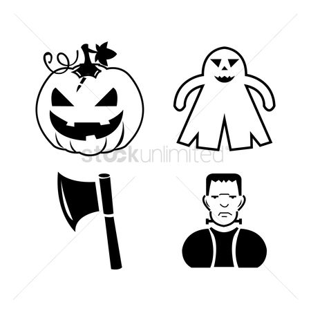 Jack o lantern : Halloween icon