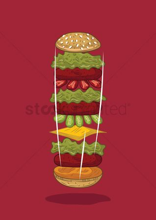 Slices : Hamburger