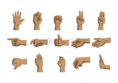 Language : Hand languages collection
