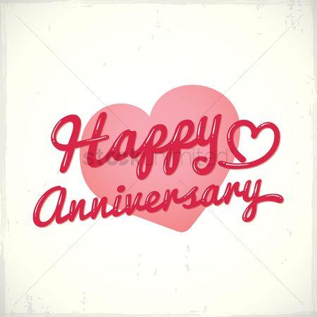 Free Happy Anniversary Love Stock Vectors Stockunlimited
