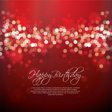 Free Birthday Card Background Stock Vectors Stockunlimited