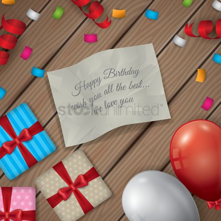 Gifts : Happy birthday wallpaper