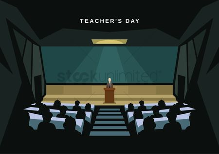 Lecture : Happy teacher s day design
