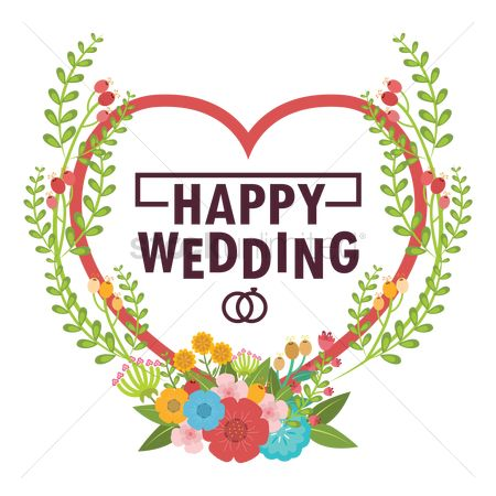Compliment : Happy wedding