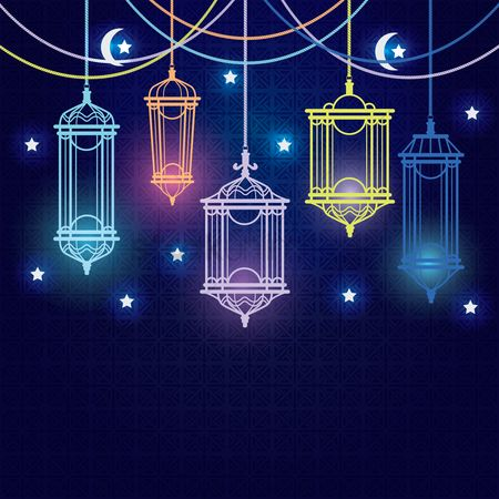 Graphic : Hari raya card design
