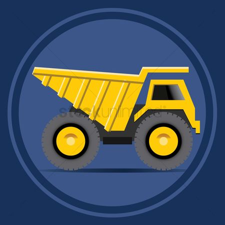 Machineries : Haul truck