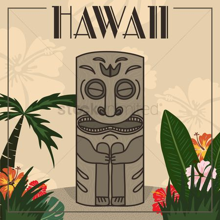 Vectors : Hawaii design